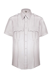 SHORT-SLEEVE POLYESTER SHIRT ELBECO WITH ZIPPER