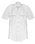 Elbeco Short Sleeve Button Down Shirt - White