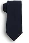 UNIFORM TIE - ZIPPER TIE BLACK